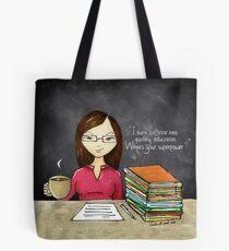Teacher Coffee 2 Tote Bag