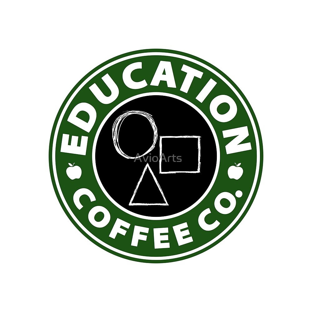 Education Coffee Co. (Shapes) by AvioArts