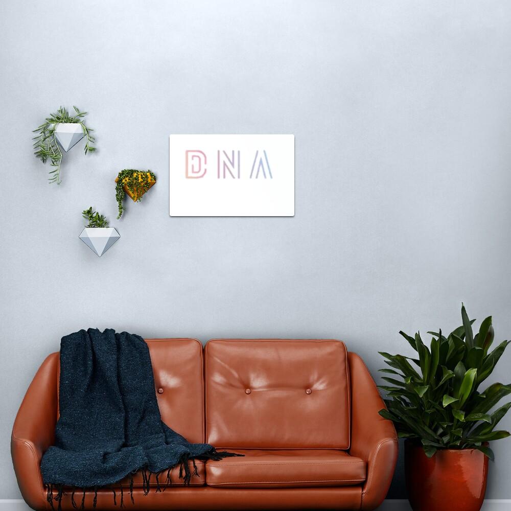 BTS DNA Logo Metal Print