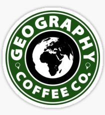 Geography Coffee Co.  Sticker