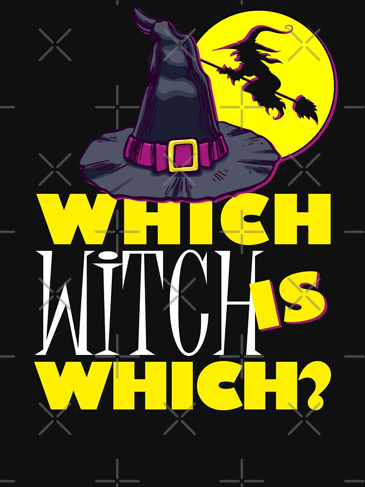 Funny Halloween T-Shirt Which Witch Is Which. Teacher Gift by shoptshirtswag