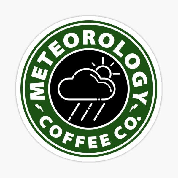 Meteorology Coffee Co Sticker