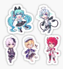 Vocaloid Sticker Sheet Sticker