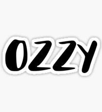 ozzy Sticker