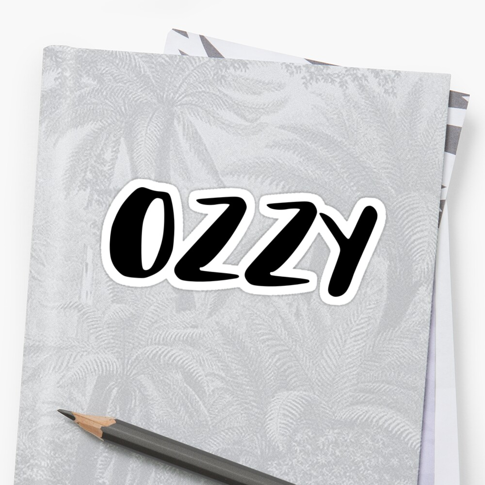 ozzy Sticker Front