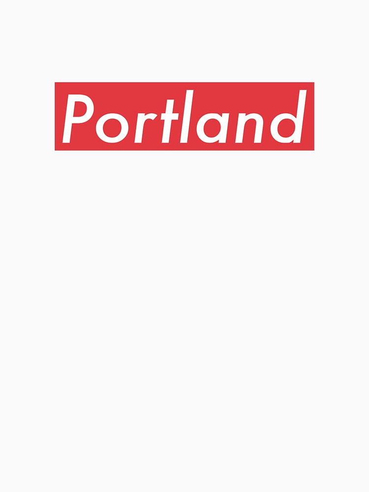 Supremely Portland (Red) by MusashinoSports