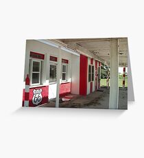 ALL OUT OF GAS Greeting Card