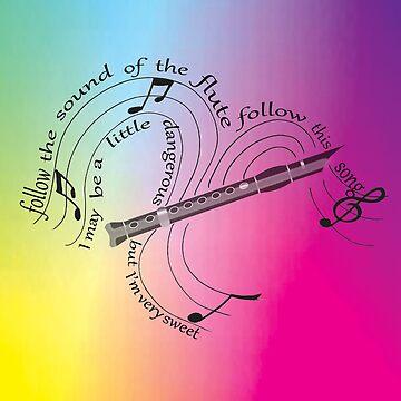 Follow the Sound - Pied Piper Lyrics (Rainbow Ver.) by Rosenten