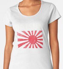 Datsun aufgehende Sonne Premium Rundhals-Shirt