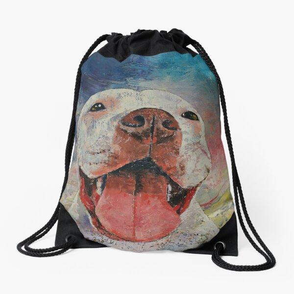 Pitbull Drawstring Bag