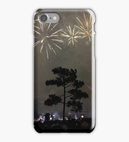 Foggy Fireworks iPhone Case/Skin