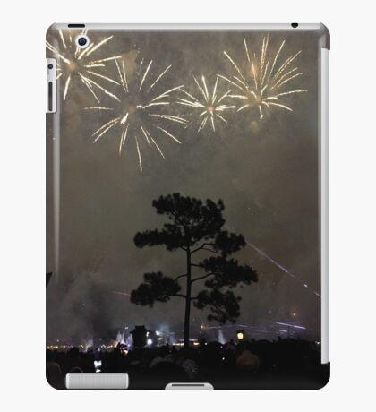 Foggy Fireworks iPad Case/Skin