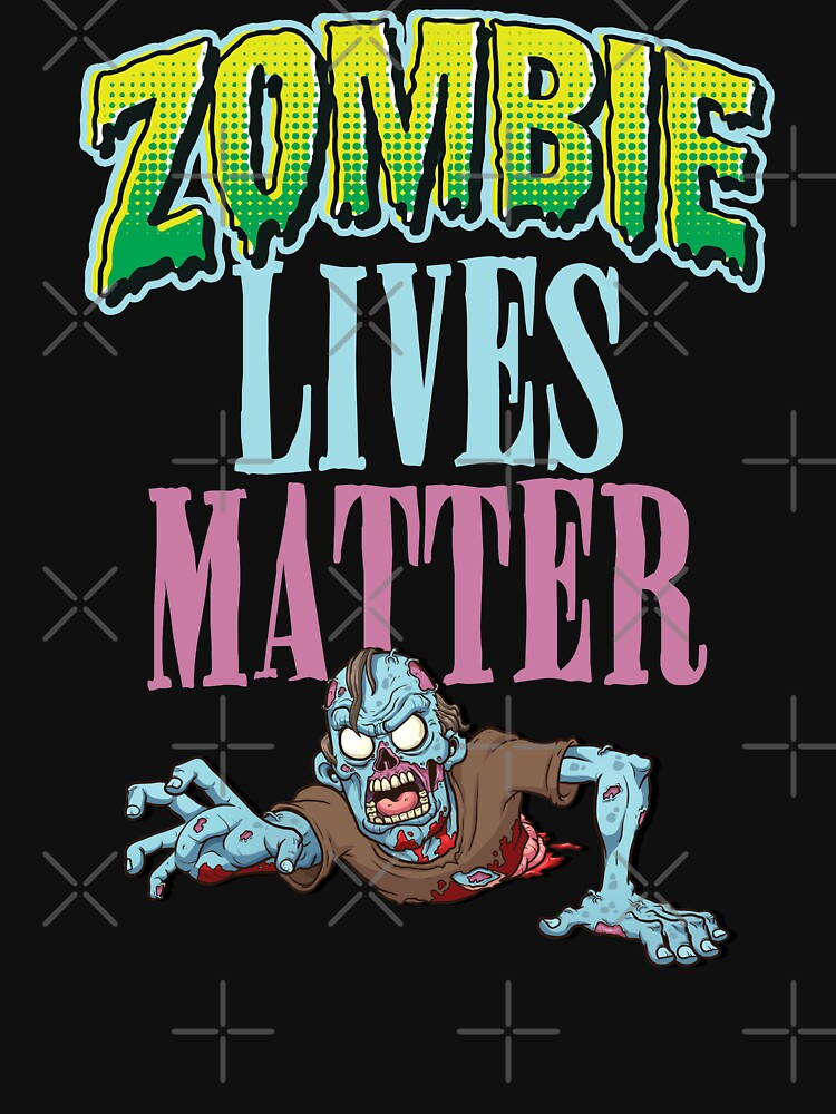 Halloween Zombie Lives Matter T-Shirt by shoptshirtswag