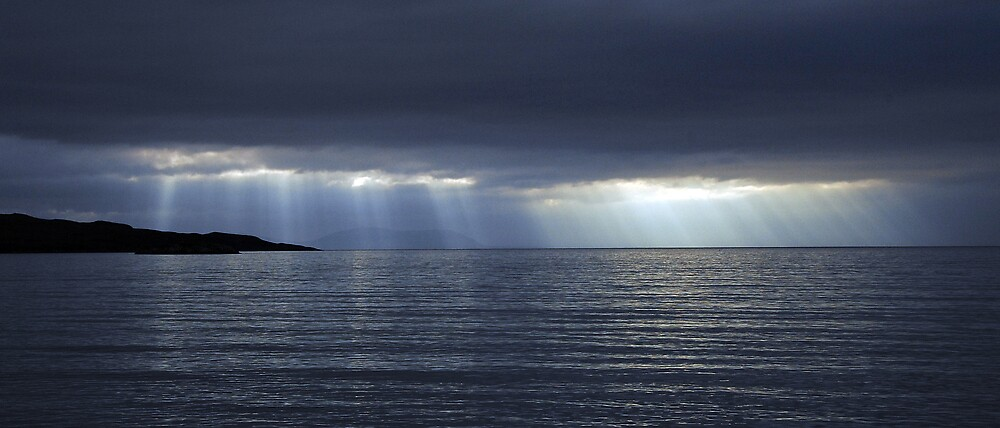 A Sormy Sky from Gairloch Beach by photobymdavey