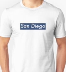 Supremely San Diego (Blue) Unisex T-Shirt