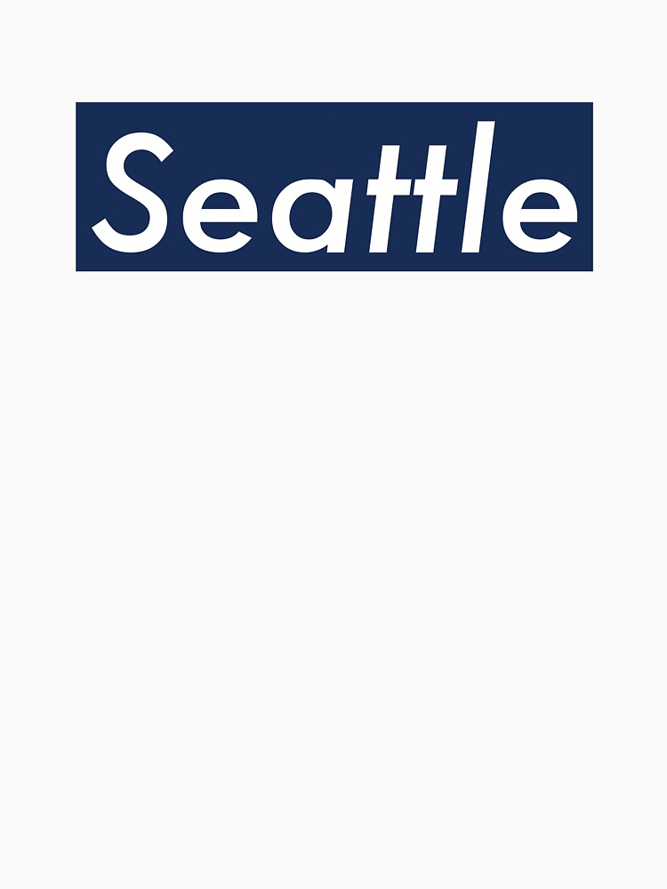 Supremely Seattle (Blue) by MusashinoSports