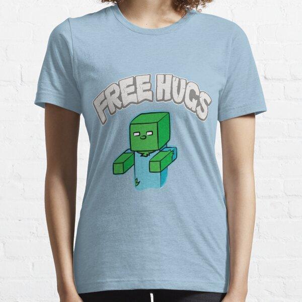 "Minecraft Zombie | ""Free Hugs"" Essential T-Shirt"