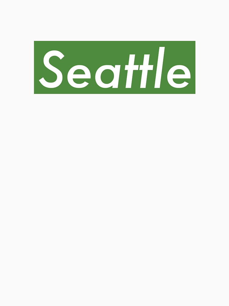 Supremely Seattle (Green) by MusashinoSports
