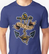American Traditional Hold Fast Anchor Unisex T-Shirt
