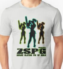 Zombie Slaying  Pin-up Girls Unisex T-Shirt