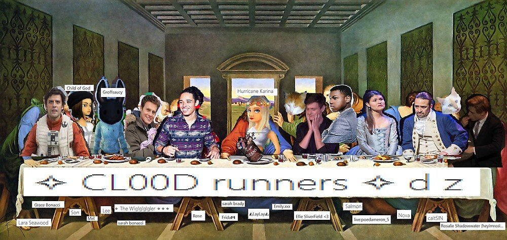 cl00d runners by xClaryFray