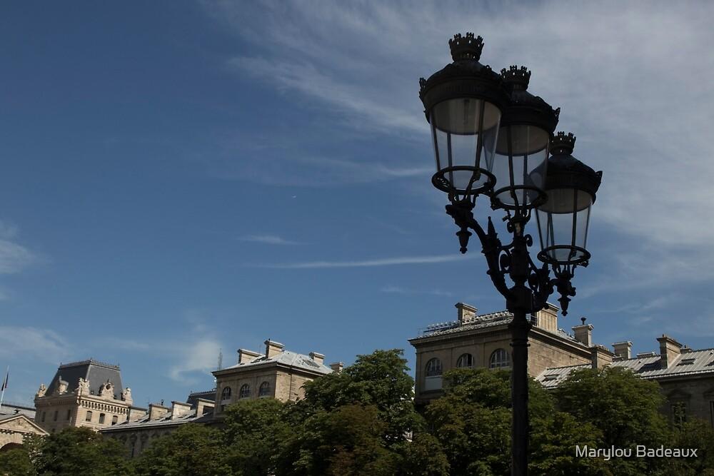 Paris Lights by Marylou Badeaux