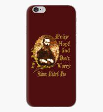 St Padre Pio  iPhone Case