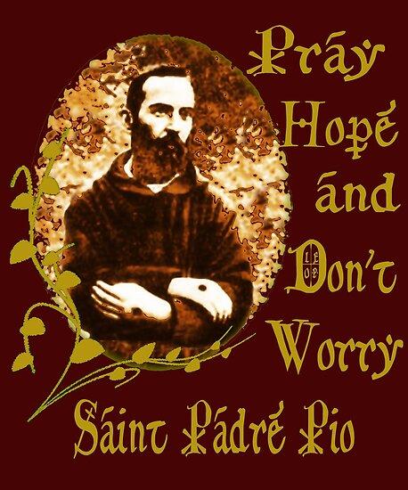 St Padre Pio  by hispanicworld