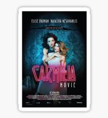 Carmilla Movie Trailer Sticker