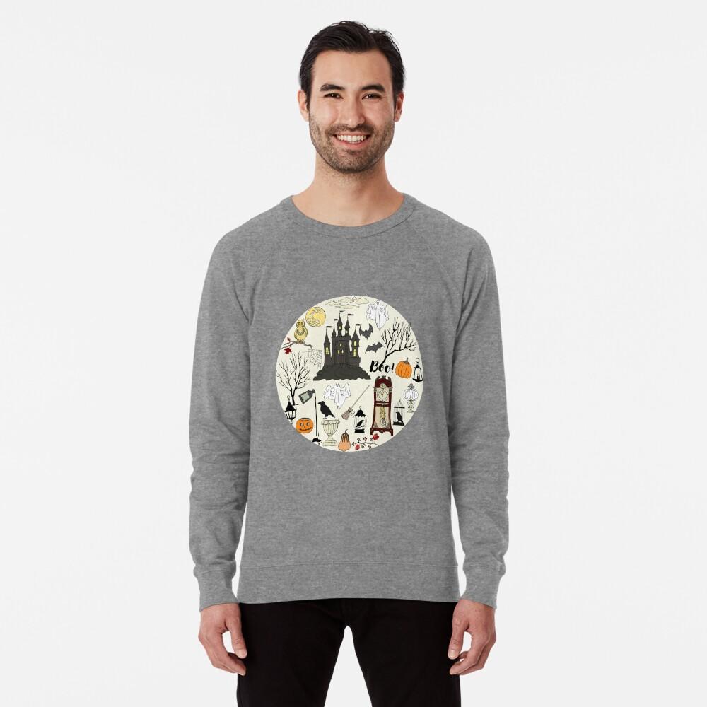 Halloween decorations Lightweight Sweatshirt