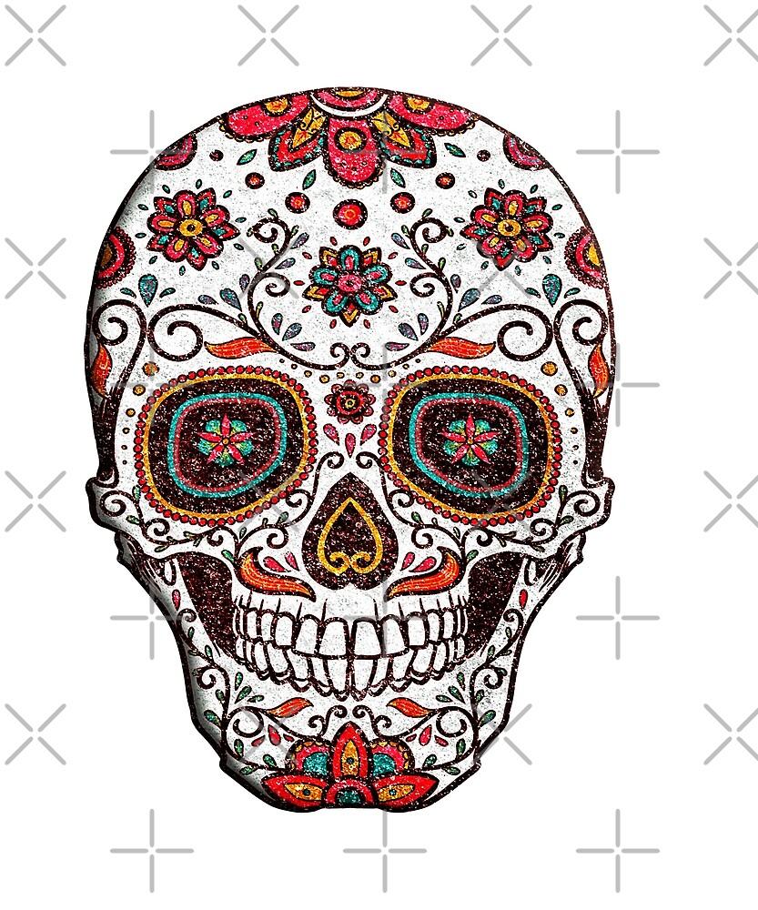 Sugar Skull Day Of The Dead by Dream Imagine Create .