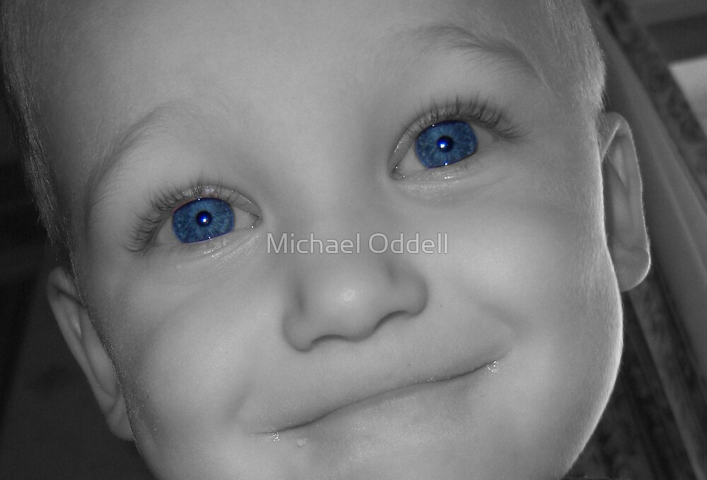 Blue Eyed Boy by Michael Oddell