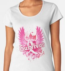 Breast Cancer Awareness Survivor Gifts Women's Premium T-Shirt