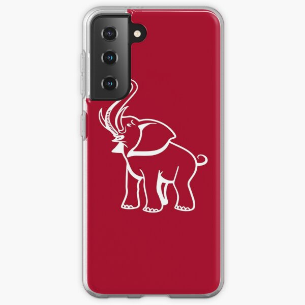 Delta Elephant Sigma Red Theta 2 Samsung Galaxy Soft Case