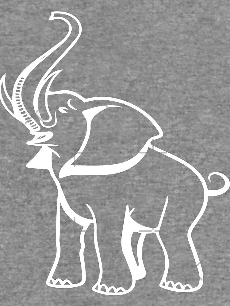 Delta Elefant Sigma Rot Theta 2 von vma77