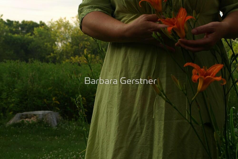 Me n my lily by Barbara Gerstner