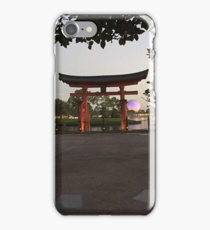 Good Morning Epcot iPhone Case/Skin