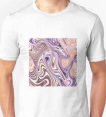 Beige zigzags Unisex T-Shirt