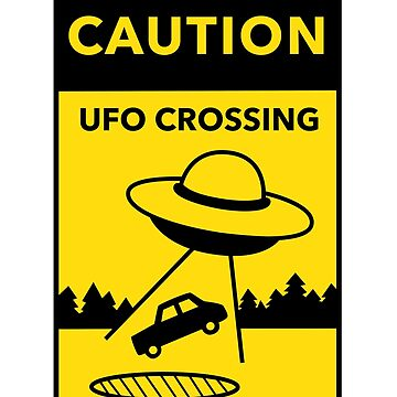 UFO Crossing by kayesdoodles