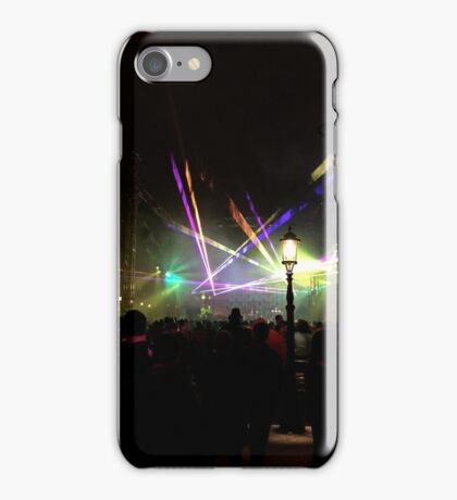 Laser in the New Year iPhone Case/Skin