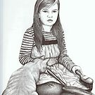 Cinderella's Cat by lynzart