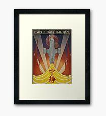 Firefly - Art Deco Framed Print