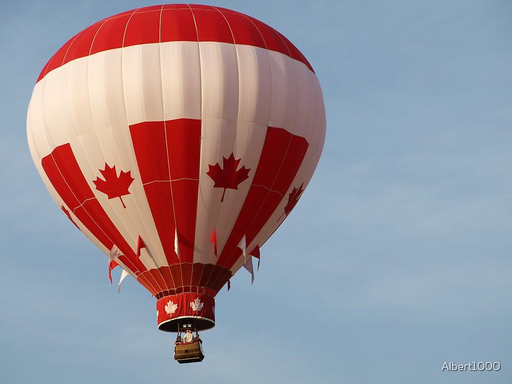 Hot air balloon by Albert1000