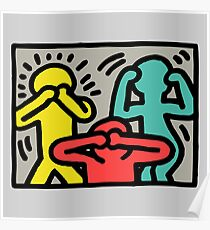 Keith Haring Art Poster