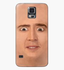 Creepy Cage Face Case/Skin for Samsung Galaxy