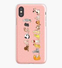 Ye Ol' Merry Christmas Kitty's iPhone Case/Skin