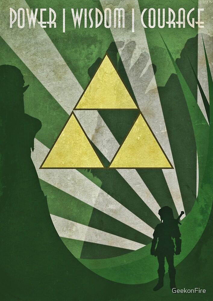 Zelda - Art Deco by GeekonFire
