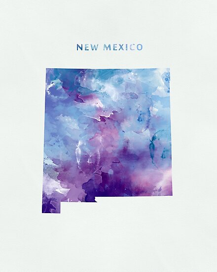 New Mexico by MonnPrint