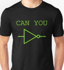 Can You NOT Logic Gate (green design) T-Shirt