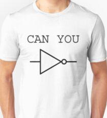 Can You NOT Logic Gate (black design) T-Shirt